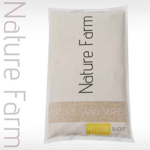 Natue Sand YELLOW 3.5kg 옐로우 슈가 3.5kg (0.2mm~0.5mm)