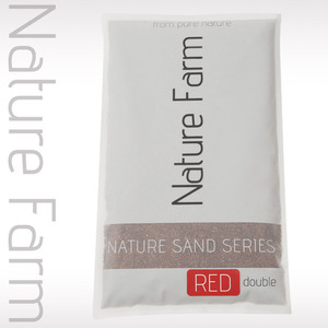 Nature Sand RED double 4kg 네이처 샌드 레드 더블 4kg (1.2mm~2.3mm)